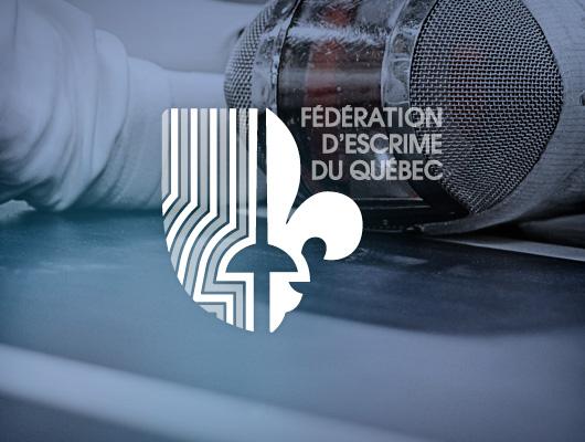 Design Logo, Web & Vidéo / Fédération d'Escrime du Québec
