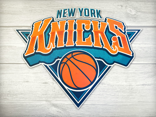 Baboon revamps the New York Knicks logo as a piece of concept art.