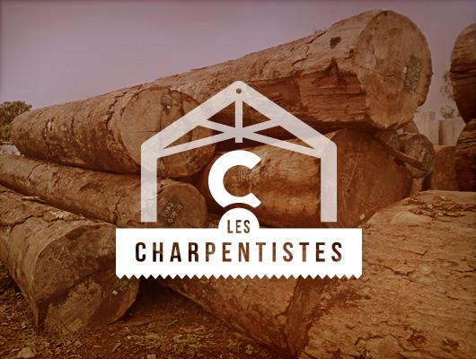 Design Logo & Web / Les Charpentistes