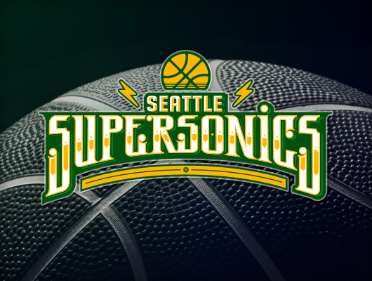 Seattle Supersonics Logo Tribute