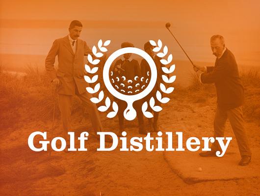 Design de logo / Golf Distillery