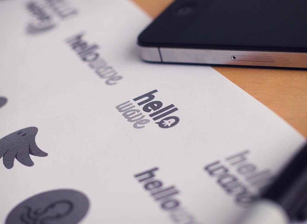 startup branding printed tests