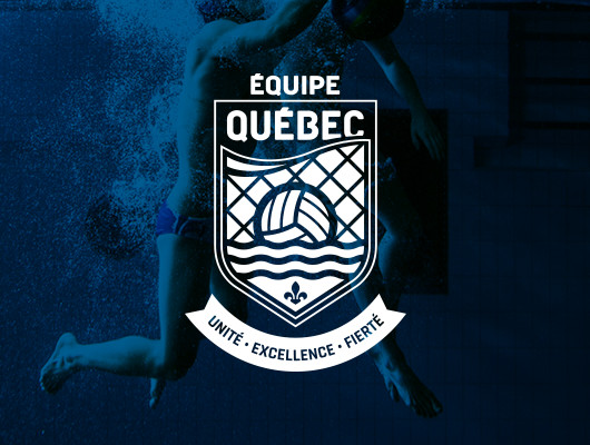 Design Logo / Équipe Québec water polo