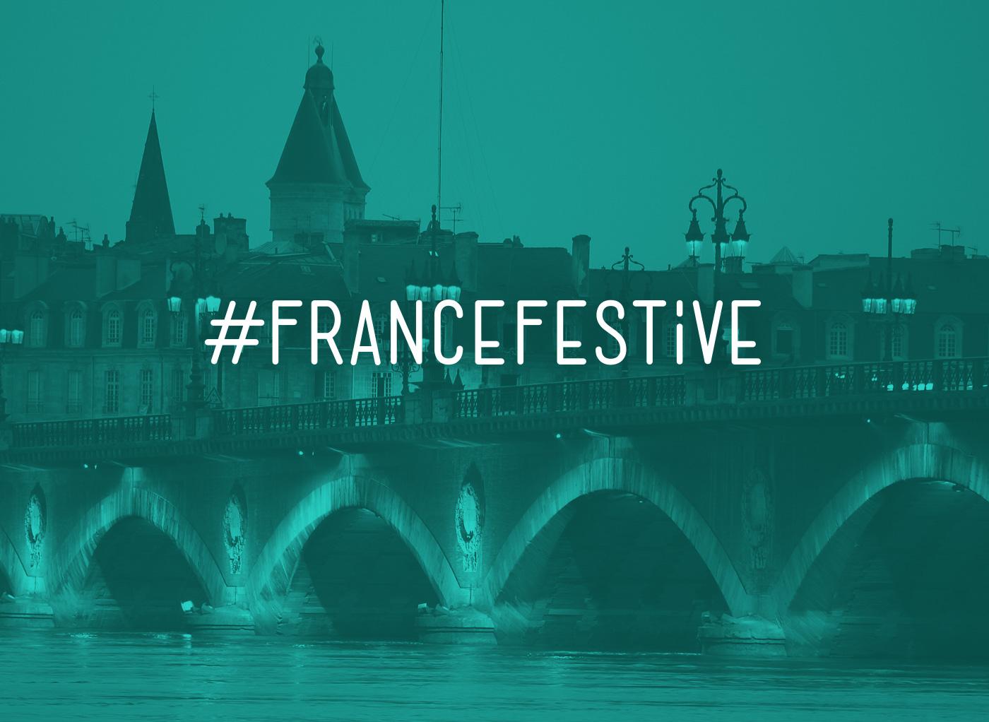 Design de typo pour France Festive