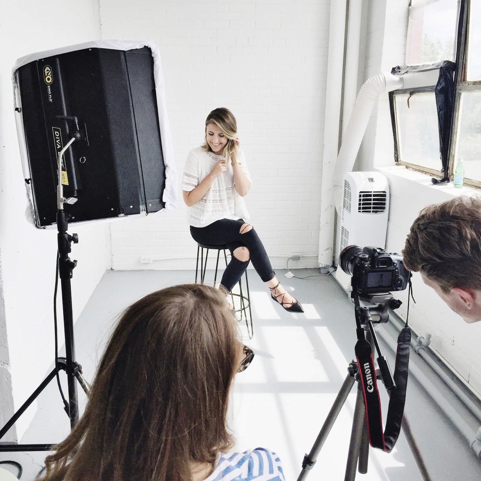 Behind the scenes shot #2