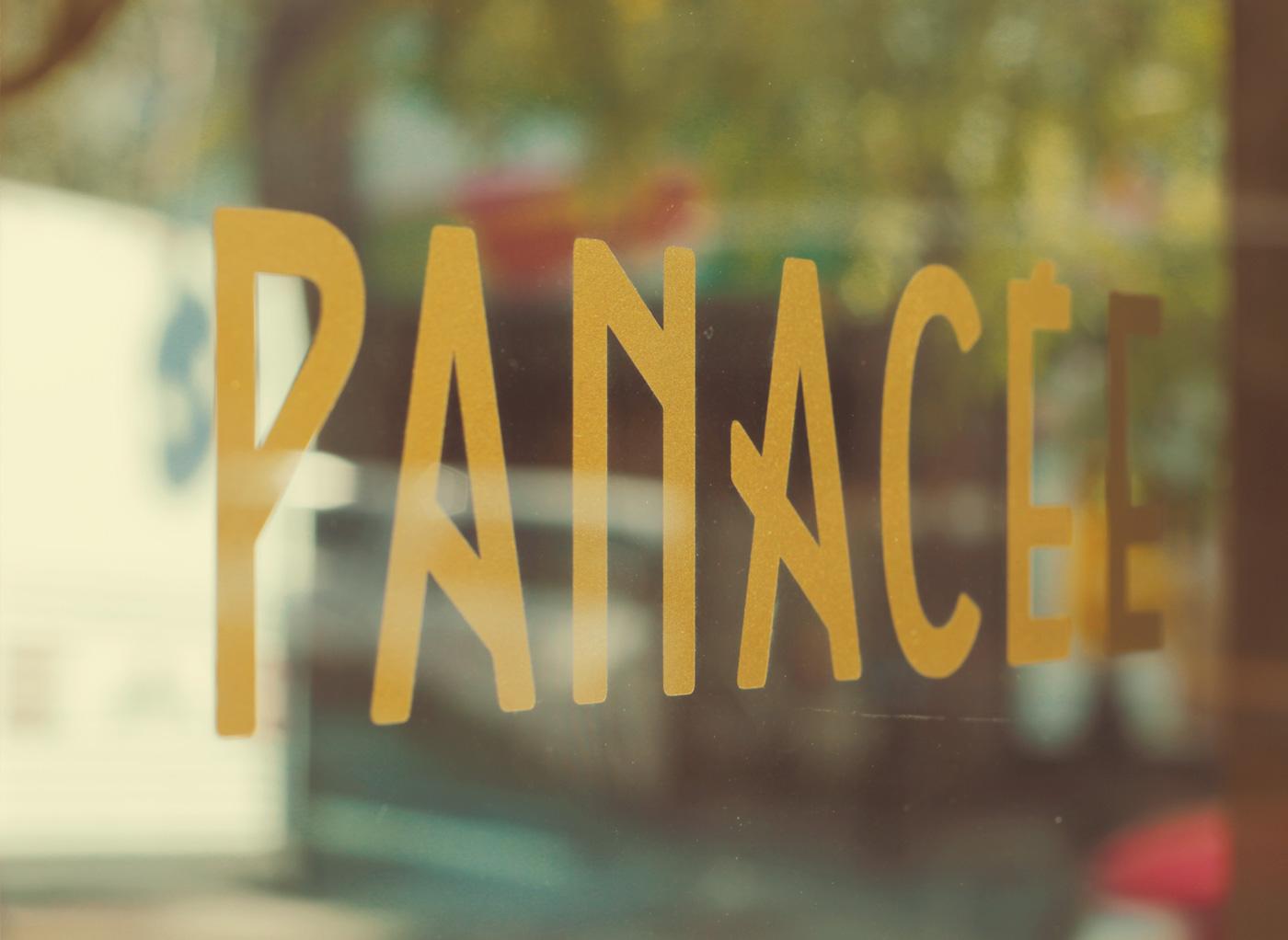 Photo de la typographie pour Panacée