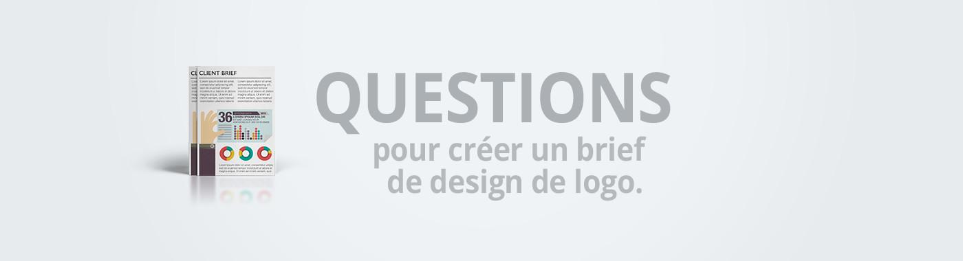 Questions pour créer un brief de design de logo