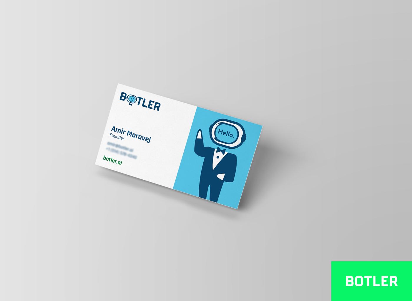 Botler Cartes d'affaires