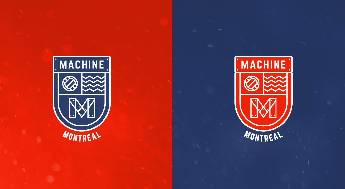Alternate Logos Machine Montreal