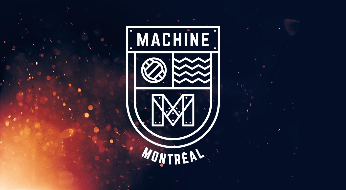 Logo Design Montreal Machine