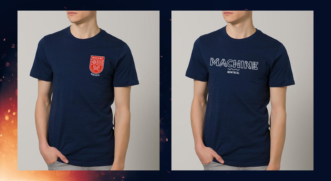 T-shirts Design Machine Montreal