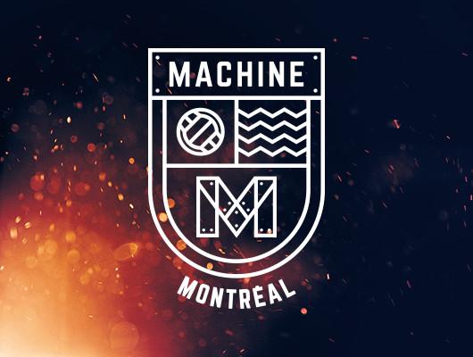 Logo Design Montréal Machine