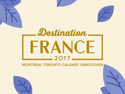 Campaign design for Destination France 2017