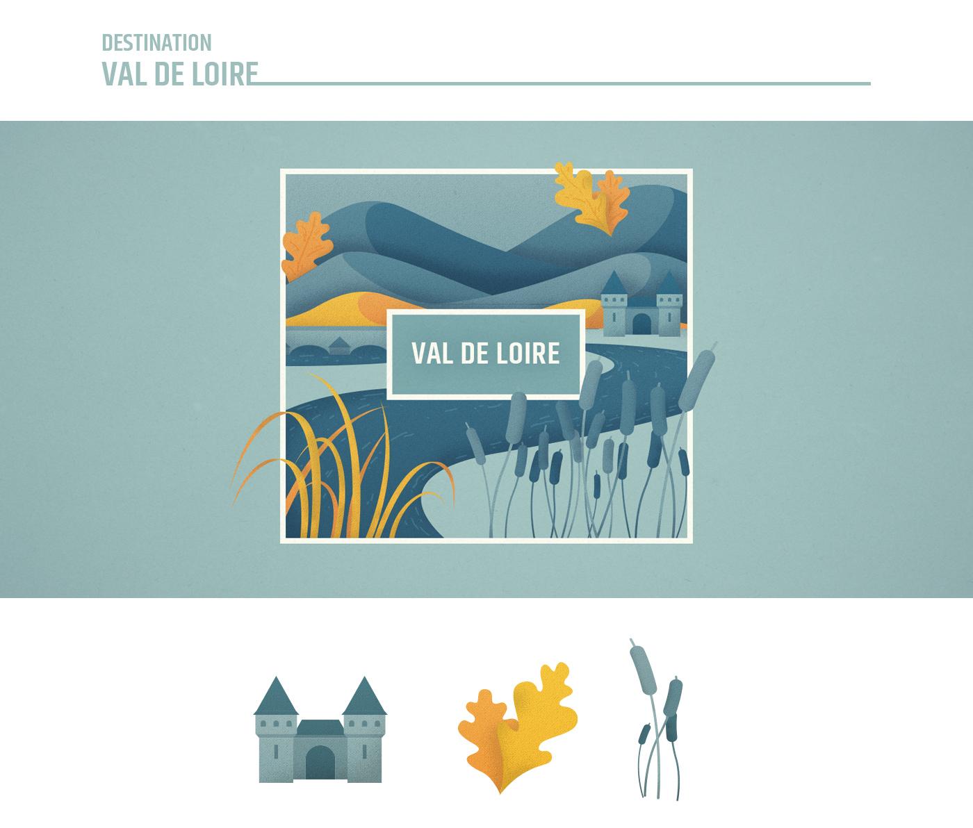 Illustration Val de Loire - France Nature